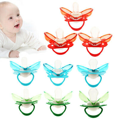 Newborn Baby Silicone Nipple Soother Pacifier Infant Orthodontic Dummy Teether