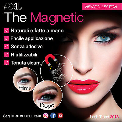 "ARDELL   "" THE NEW MAGNETIC COLLECTION""    Le ciglia Magnetiche per eccellenza"
