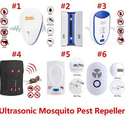 Indoor Electronic Ultrasonic Pest Reject Mosquito Cockroach Mouse Repeller