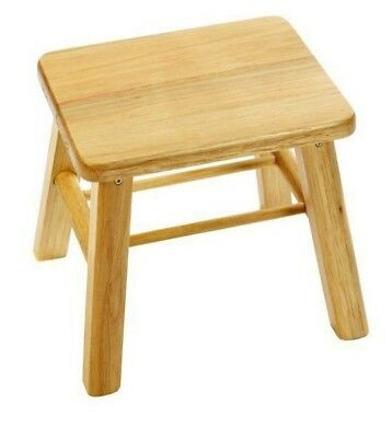 Bamboo Wood Wooden Stool Kid Picnic Fishing Seat Chair Kitchen Garden Rest New