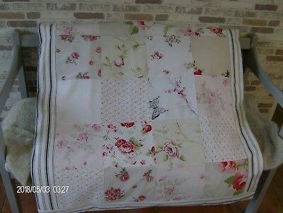 PATCHWORK THROW - PERSONAL ORDER FOR LUCIE  ~Fleur~