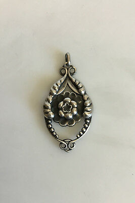 Georg Jensen Silver Pendant from 1910-1920 No 37