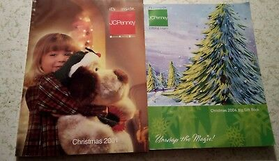 vintage JCPenney 2 Christmas catalogs 2001 & 2004