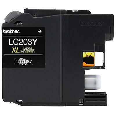 Brother Innobella LC203Y 550 Page High-Yield Yellow Ink Cartridge