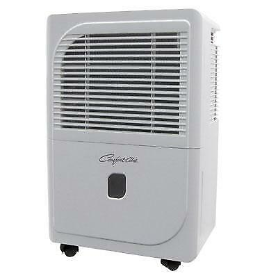 Comfort-Aire BHD701H 70 Pints Per Day Portable Dehumidifier w/ Washable Filter