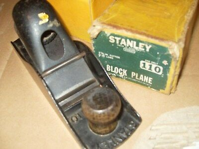 Stanley No.110 Block Plane - As Photo
