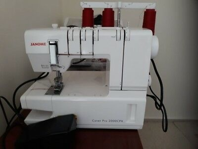 JANOME Cover Pro 2000 CPX  / Covermaschine