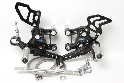 Pp Tuning Racing Footrest System Motorcycle Aprilia RSV4 2009