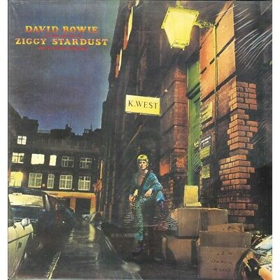 David Bowie Lp The Rise And Fall Of Ziggy Stardust And The Spiders From Mars Sig