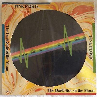 Pink Floyd-Dark side of the.-Rare Picture Disc-LP-1973-Vinyl-limited edition-M/M