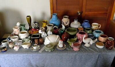 Huge glass and ceramics lot mostly mid century and other collectable items