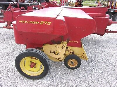 Nice used New Holland 273 Square Hay Baler -------- CAN SHIP @ $1.85 loaded mile
