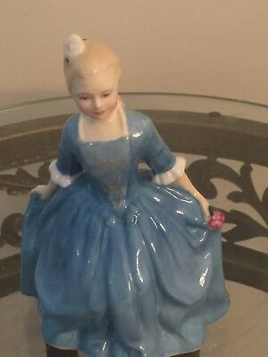 Royal Doulton Figurine A Child from Williamsburg HN 2154 Copyright