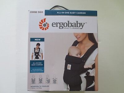 Ergobaby OMNI 360 All-in-One Ergonomic Baby Carrier -- Pure Black