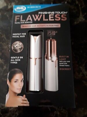 Jml Finishing Touch Flawless The Gold Plated Hair Remover