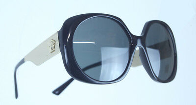 d91fc5b39a20 44 VERSACE MOD 4331 GB1 87 Round Black Gray Gold Gradient Sunglasses ...