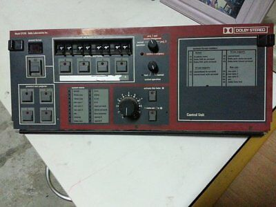 DOLBY CP 200 Fornt Control Unit