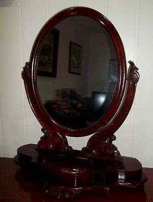Antique Mahoghany Dressing Table Mirror