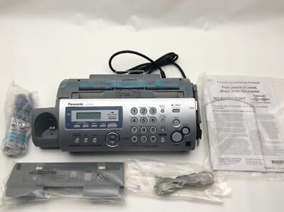 NEW Panasonic KX-FG2451 Plain Paper Fax 2.4GHz Cordless Phone and Digital Answer