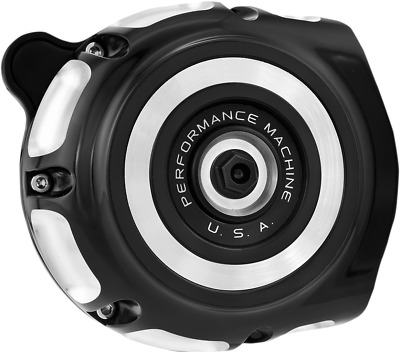Performance Machine Vintage Air Cleaners for Indian Contrast Cut 0206-2133-BM