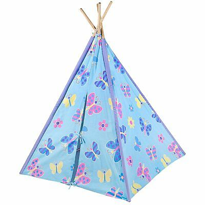 Wildkin Olive Kids Butterfly Garden Canvas Teepee