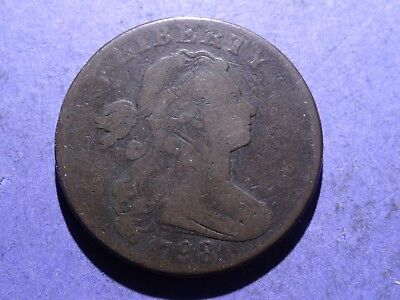 1798 Draped Bust Large Cent VG