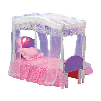 1/6 Doll House Bedroom Sweet Dream Bed Playset For Barbie Dolls Accessories