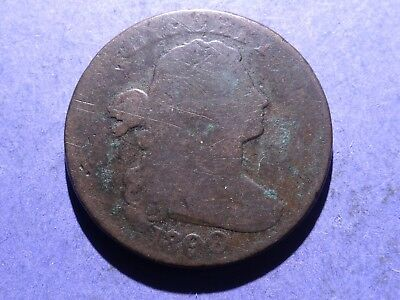 1800  80/79 Draped Bust Large Cent Good