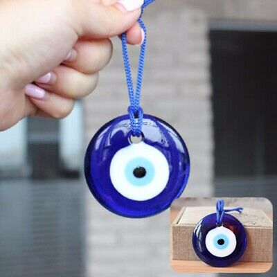 7cm Turkish Blue Glass Evil Eye Amulets Wall Hanging Charm Decoration Lucky