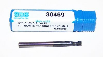 "HP421-1250 .1250/"" 1//8/"" CARBIDE 2 FLUTE COATED ENDMILL OSG HY-PRO PERFORMANCE"