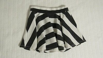 P.s. From Aeropostale Girls Skirt Black And White Stripes Size 7