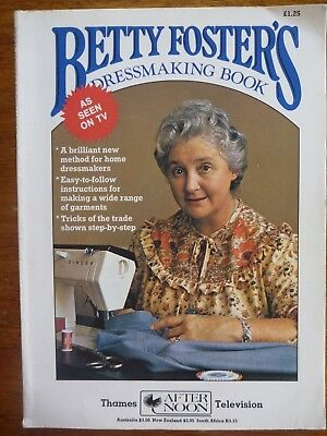 Vintage Betty Foster's Dressmaking Book - For Home Dressmakers