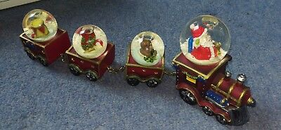 Avon collectable Snowglobe Christmas Train. Pick up Geelong only!!!