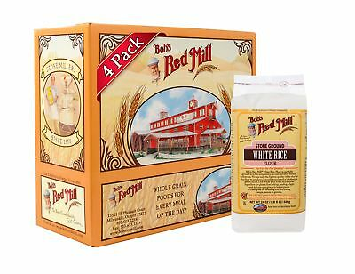 Bob's Red Mill Gluten Free White Rice Flour, 24-ounce (Pack of 4)