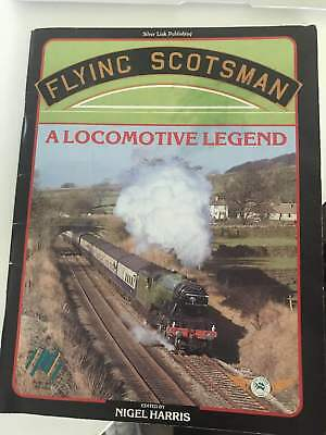 FLYING SCOTSMAN in AUSTRALIA commemorative book. Autographed by owner & engineer