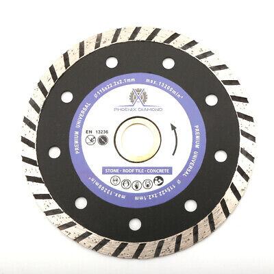 "4.5"" Dry/wet Diamond Saw Blade W/ Cooling Hole For General Purpose"