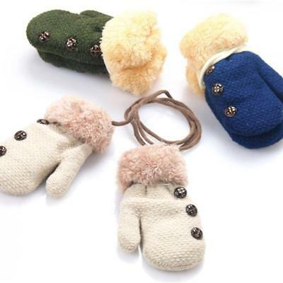 Warm Gloves Warm Rope Mittens Knitted Gloves Children's Mittens Baby Gloves FW