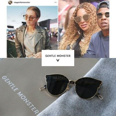 cdb92f0a692f Gentle Monster SIGN OF TWO S3GD Authentic Men s Women s Sunglasses Eye Wear