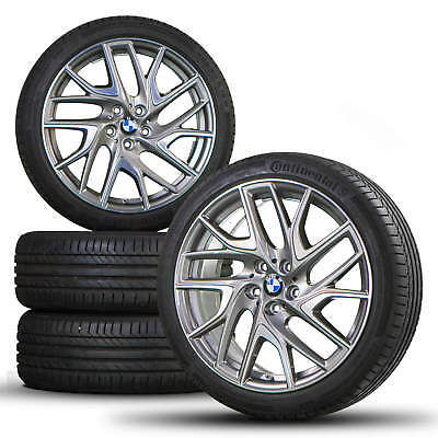 BMW 2 series Active Gran Tourer F45 F46 19 inch alloy wheels tires for summer