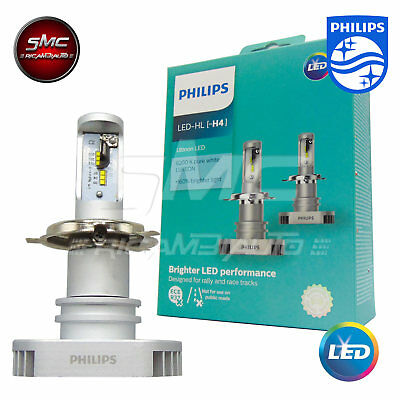 PHILIPS H4 LAMPADE LED X-treme Ultinon LED 6200K +160% 12V 11342ULWX2