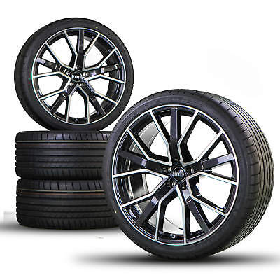 Audi RS6 RS7 4G 21 inch alloy wheels tires for summer Sline Performance Competit