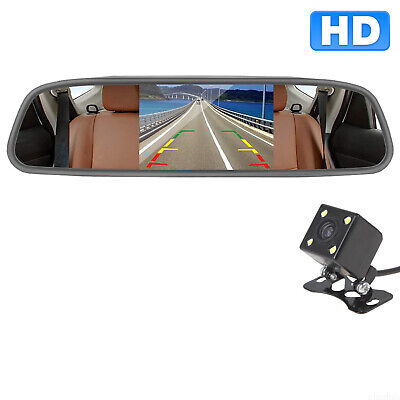 Wireless Waterproof Car Rear View Reverse Backup Parking Camera Kit Night Vision