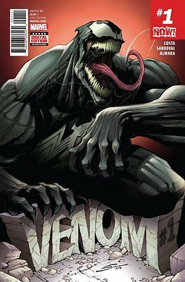 VENOM ISSUE 1 - FIRST PRINT MARVEL COMICS - 1st APPEARANCE NEW HOST - MARVEL NOW