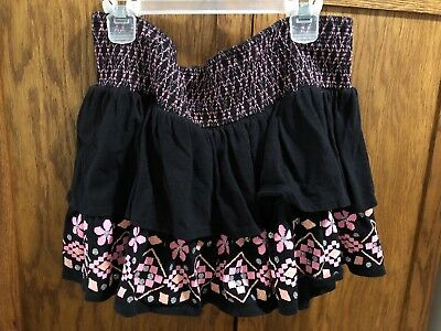 Justice Girls Size 18 Ruffle Skirt