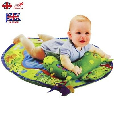 Baby Kids Soft Plush Animal Game Play Mat Crawling Blanket Floor Rug Carpet Frog