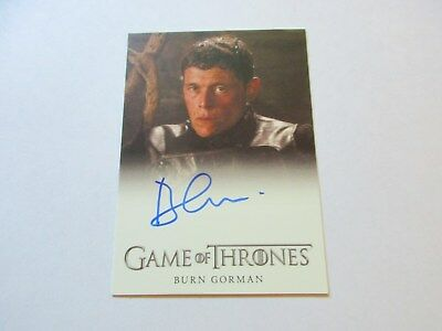 Game of Thrones Season 7 - Burn Gorman as Karl Tanner Autograph Card