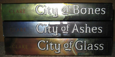 The Mortal Instruments: City of Bones, City of Ashes, City of Glass Paperbacks