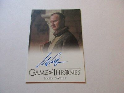 Game of Thrones Season 7 - Mark Gatiss as Tycho Nestoris Autograph Card