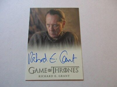 Game of Thrones Season 7 - Richard E. Grant as Izembaro Autograph Card