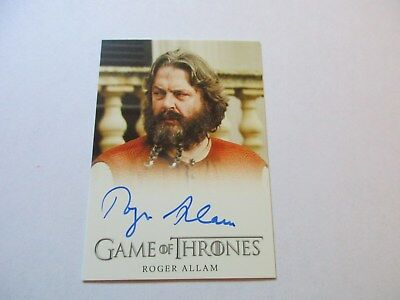 Game of Thrones Season 7 - Roger Allam as Magister Illyrio Autograph Card